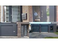 Vinyl Wrapping of standard UPVC windows and doors to achieve a new modern, contemporary look