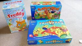 Various childrens games