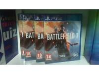 Battlefield 1 PS4 Brand New Sealed Games