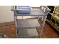 Catering trolley £40