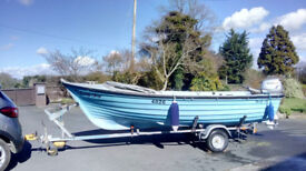 Boat for sale - Mag 15 with 20hp outboard £3950 ono