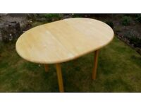 Dining Table - pine extending