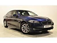 BMW 5 SERIES 2.0 520D SE 4d 181 BHP + 2 PREV OWNER + SERVICE HI (blue) 2011