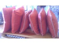 CUSHIONS, BARGAIN. STILL AVAILABLE IN NEXT DIRECTORY. SELLING AT 80, MY PRICE 40.00, BARGAIN.