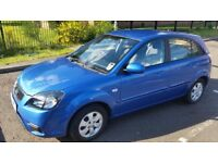 Kia Rio Strike 1.4, 2010, low mileage 39000, full year MOT, service history, two r/c/l keys