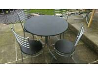 Dining table & 4 chairs from VERY