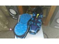 Blue size 9.5/10 trainers