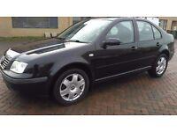2001 Volkswagen Bora 1.6s 16v MET BLACK LONG MOT MUST SEE