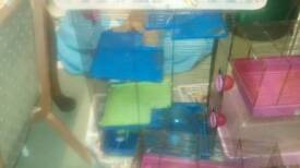 Pet Cages With Accesories