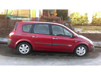 renault grand scenic 2005 (7 seater)