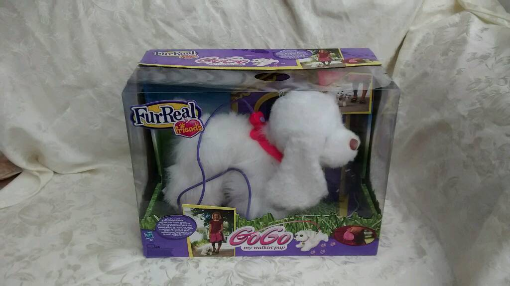 Adorable FurReal Go Go Walking Puppy with Lead and Box