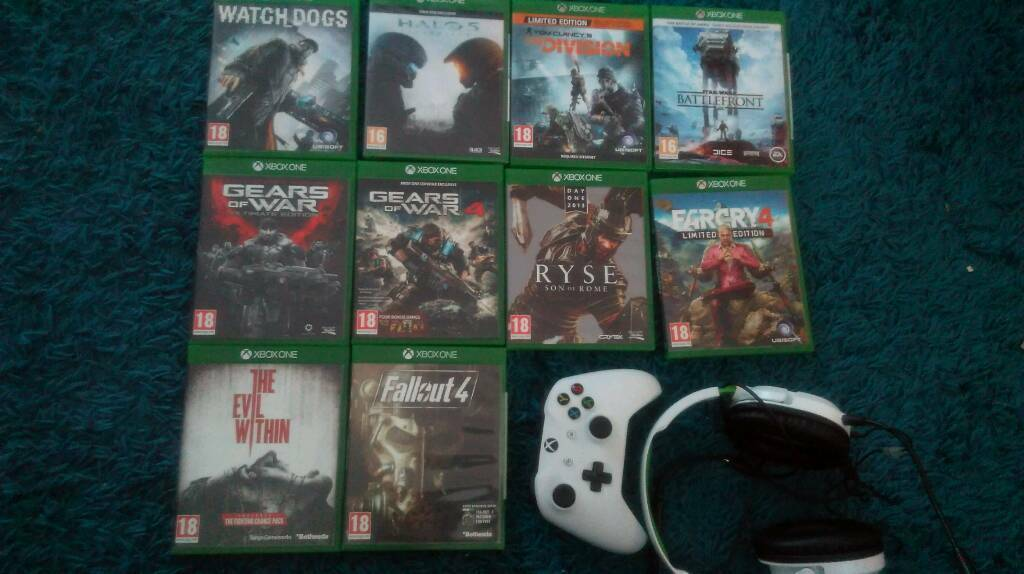 Xbox one game bundle headset controller and hoodie | in Middleton St  George, County Durham | Gumtree