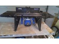 Router & table