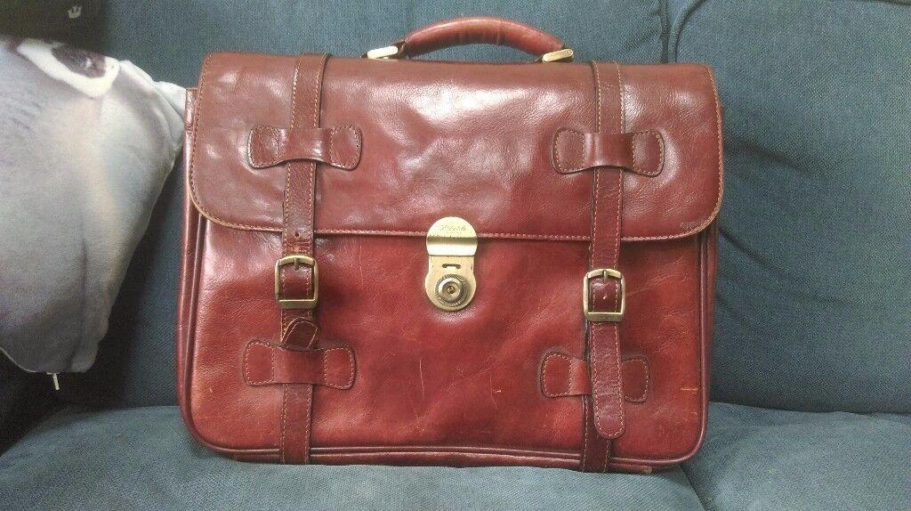 S Babila Milano Genuine Italian Leather Bag