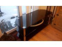 Glass TV unit excellent condition