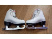 Risport girls ice skates size 29