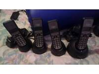 I dect Cordless digital home phone with answering machine