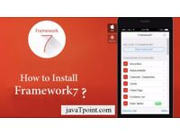 How to Install Framework7 ? #javaTpoint
