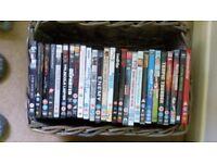 Job lot of 92 DVDs