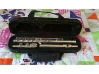 Flute - Selmer Signet coin silver flute decent condition with case