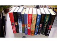 Terry Pratchet hard back books ex condition