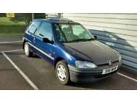 Peugeot 106 1.5 Diesel, Blue, Mot 16.9.2017