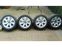 "Audi genuine alloys 17"" 225/50 5x112"