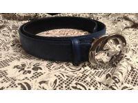 Blue Women's Belt