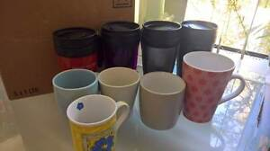 Assorted mugs and travel mugs $5 the lot Beckenham Gosnells Area Preview