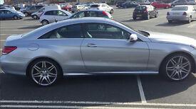 Mercedes-Benz E Class Coupe E250 CDI AMG Sport 7G-Tronic