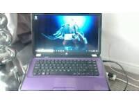 HP PAVILION G6 PURPLE LAPTOP COMPUTER
