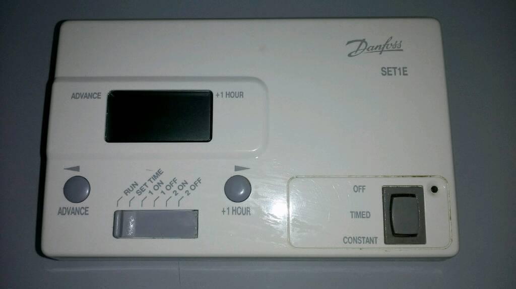 Central Heating Timer Clock. Danfoss SET1E
