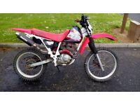 Xlr 125 field bike