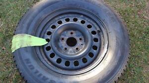 265-70-R17  ,  4 Sailun winter tire/rim pkg , 2007-2014 Jeep Sahara