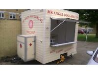 Catering trailer , Burger Van Burger trailer , Food trailer