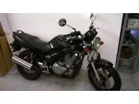 motorbike 2004 black nice suzuki gs500 ,new MoT,vLOW mileage
