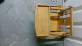 Vintage baby chair/walker