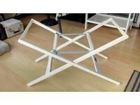 White Stand for Moses Basket