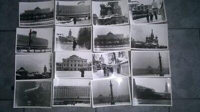 27 Fotos von Moskau,Russland,UdSSR,Anfang der 80-er,10,5 X 8 cm