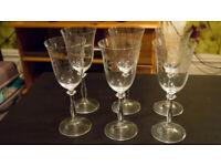Bohemia Crystal - New Crystal Glass Carafe & Glasses - Beautiful design!