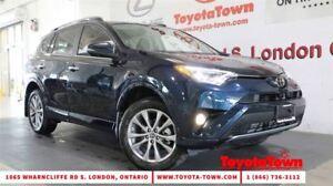 2017 Toyota RAV4 LIMITED PLATINUM PACKAGE NAV BLIND SPOT MONITOR