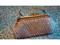 Glitzy vintage evening bag