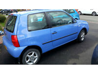 Blue VW Lupo 2001 Low Milage