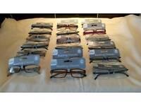 Job lot of reading glasses