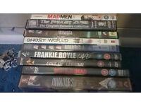 9 DVD's