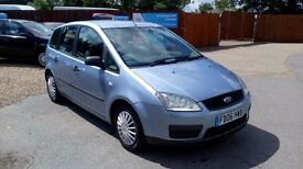 LOW MILEAGE FORD FOCUS C-MAX & NEW MOT AND WARRANTY INCLUDE ON SALE