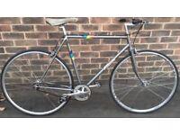 55cm Falcon Single speed lightweight road bike free wheel rear wheel