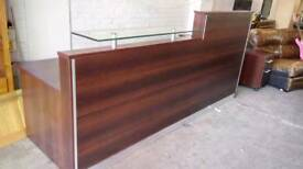 Hotel reception desk with storage units i. Excellent condition. Delivery available