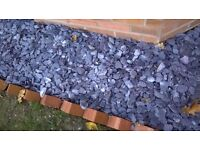 Blue slate border dressing - Half a bulk bag - about 25 small bags worth!