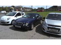 Mecedes Benz CLK320 x reg 2000.convertible blue for spares or repair